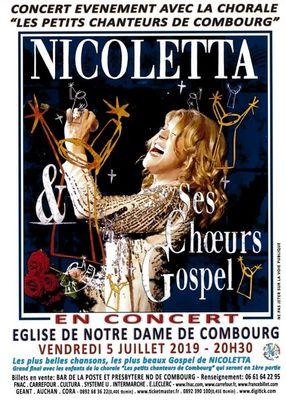 Concert Nicolleta 5juillet2019