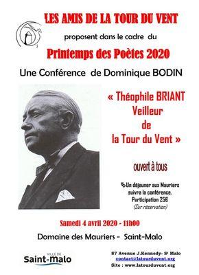 Conférence Théophile Briant