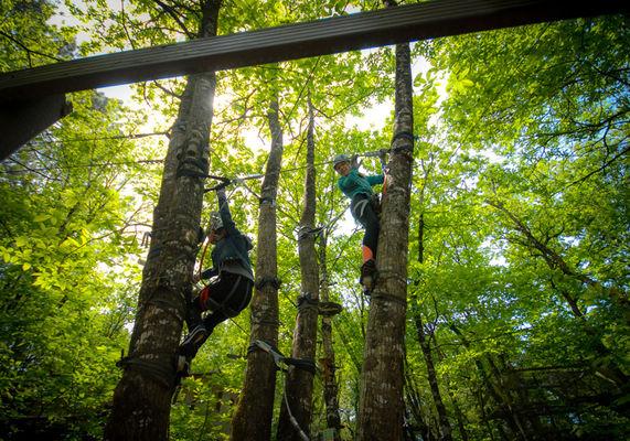 Corsaire Aventure - dans les arbres - Saint Père