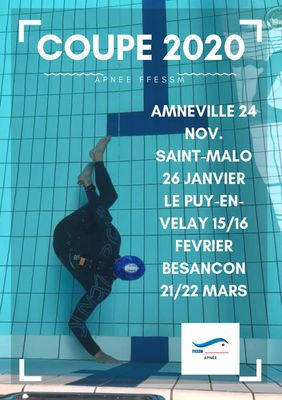 Coupe de France d'apnée - Saint-Malo - 26fev2020