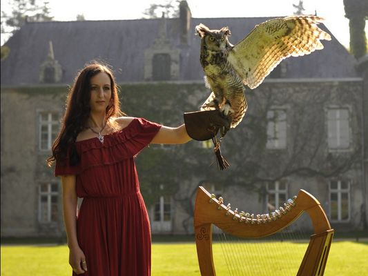Arth Maël - Harpe celtique - Dana - Morbihan - Bretagne