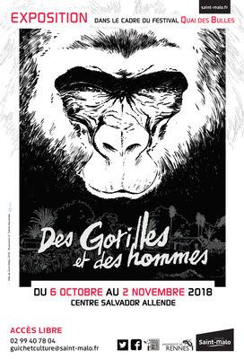 Des gorilles et des hommes - Saint-Malo - 6octau2nov2018