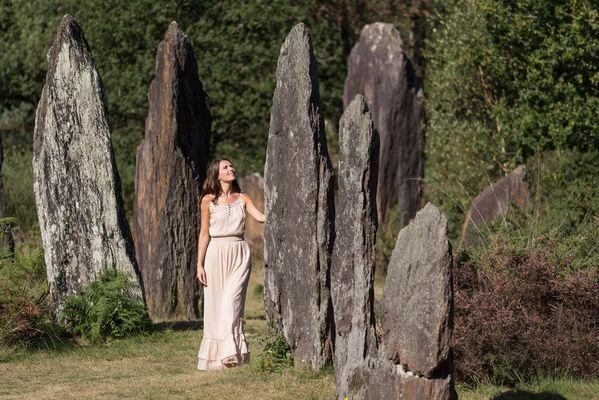 Menhirs de Monteneuf-Brocéliande-Bretagne