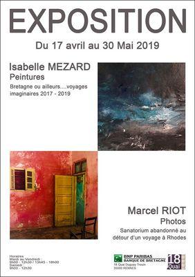 Expo-Isabelle-Mezard---Marcel-Riot-17avr-30mai19