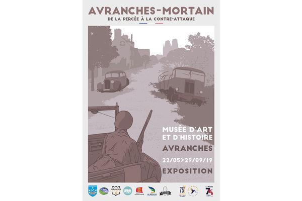 "Exposition ""Avranches-Mortain : de la Percée à la Contre-Attaque"""
