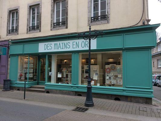 Exterieur - Des Mains en Or - Saint Malo