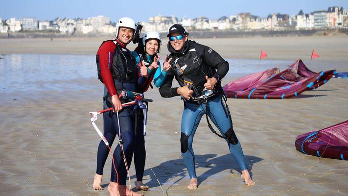 Easy Ride - école de KiteSurf - Saint-Malo