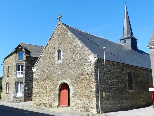 Eglise du Temple Carentoir Destination Brocéliande