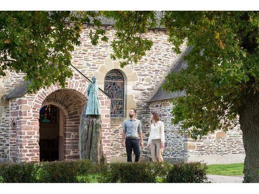 Eglise du Graal en Brocéliande