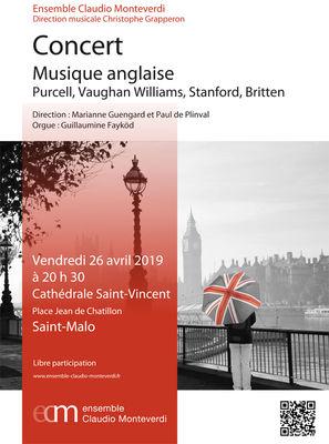 Ensemble Claudio Monteverdi - Saint-Malo - 26avril2019