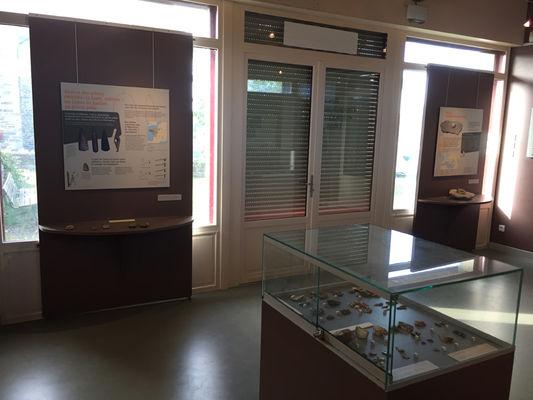 Espace interprétation archéologique Lillemer - intérieur