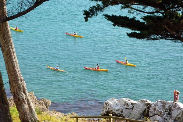 Forts de Saint-Malo en kayak de mer