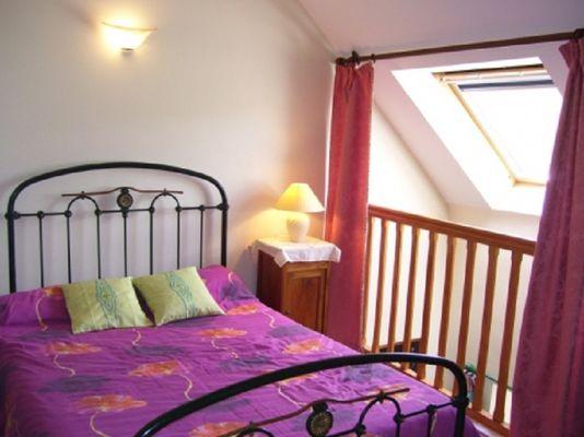 Gîte Guimard chambre mezzanine - Pleucadeuc - Morbihan - Bretagne