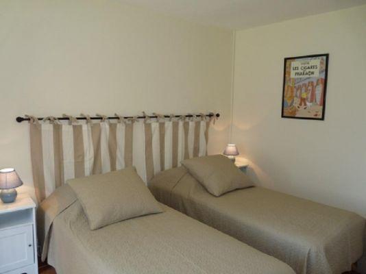 Gîte de Kerelec chambre twin - Pleucadeuc - Morbihan - Bretagne