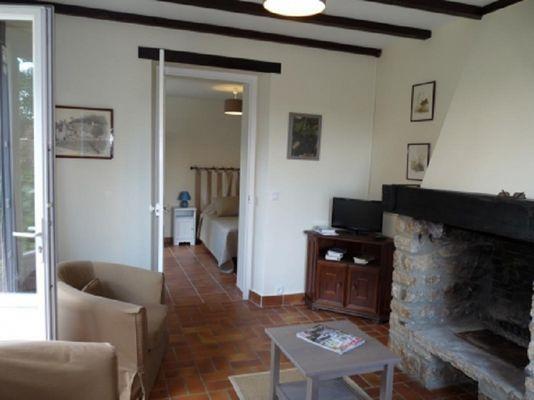 Gîte de Kerelec salon - Pleucadeuc - Morbihan - Bretagne