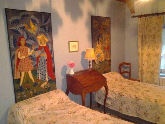 Gîte de La Noë Lévèque_Paimpont_chambre1
