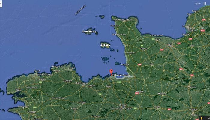 Google Sat - Cyprès 90 Mitteaux-Martin - Saint-Malo