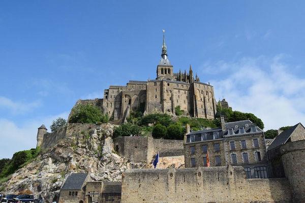Soirée grande marée à l'abbaye du Mont-Saint-Michel