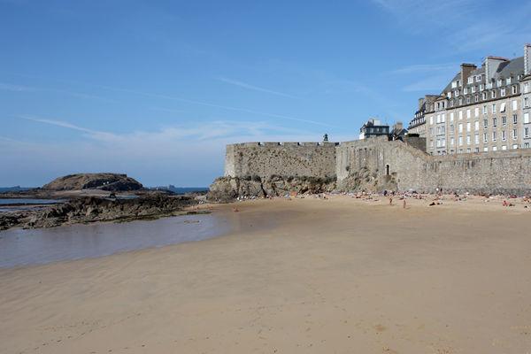 Saint-Malo - plage du Môle