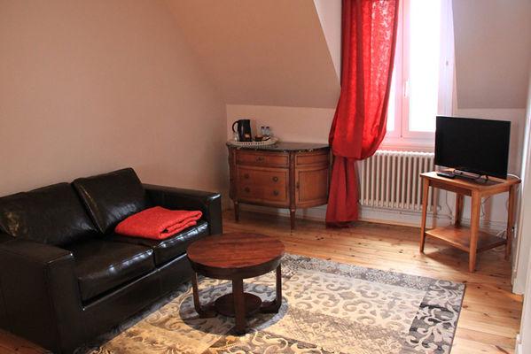 Villa Fleurette, chambre Grand Bé à Saint-Malo
