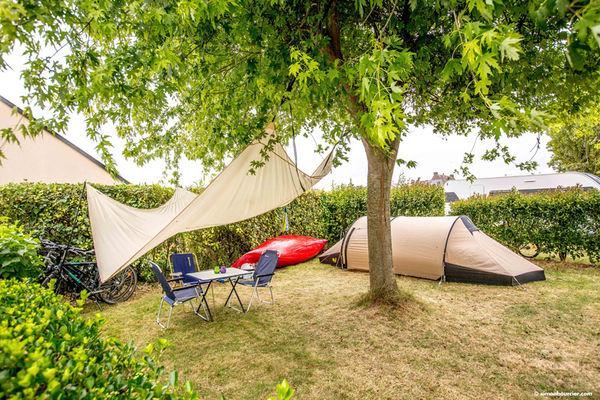Camping Tenzor de la Baie à Cherrueix