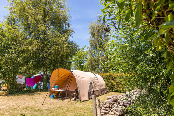 Camping de l'Ile verte à Saint-Benoît-des-Ondes