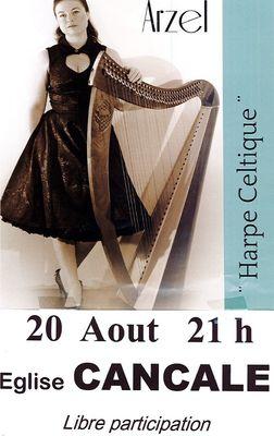 Harpe Celtique 20 aout