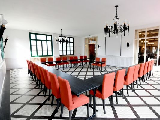 Salle de séminaire - Hôtel-Restaurant du Château - Josselin - Morbihan - Bretagne