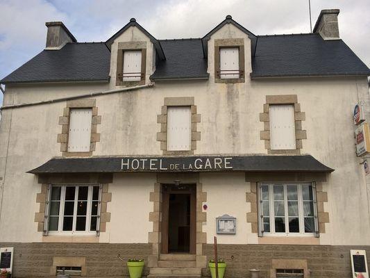 Hôtel de la Gare - La Chapelle-Caro - Val d'Oust - Morbihan - Bretagne