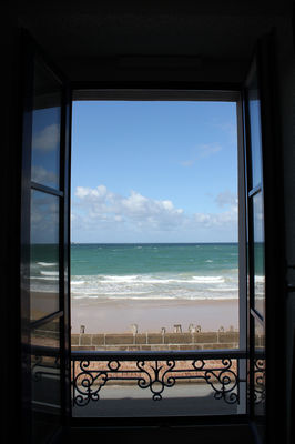 IBIS PLAGE - chambre double vue cote mer 1- StMalo
