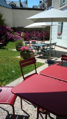 IBIS PLAGE - jardin terrasse2 - StMalo