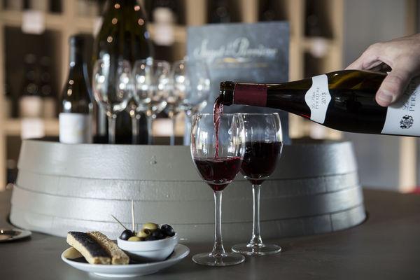 JARDIN ABBAYE - vin degustation - LE TRONCHET