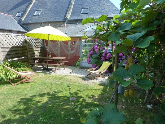 Jardin - Ferme de la Vieuville - Cancale