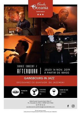 Jazz Gainsbourg 14nov