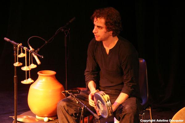 Jazz à l'étage_Bijan Chemirani ©Adeline Docquier