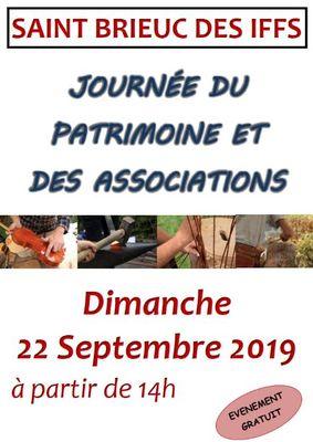 Journée du patrimoine et des associations 22sept19