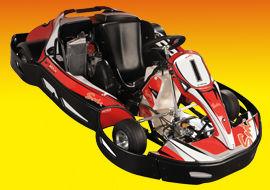 Karting rouge - Karting de Saint-Malo - Saint Méloir des Ondes