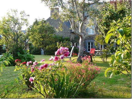 LE VIEUX VERGER - jardin1 - St Méloir