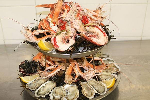 Le Cancalais 2016-plateau de fruits de mer