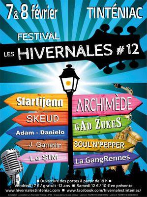 Les Hivernales - Affiche2020