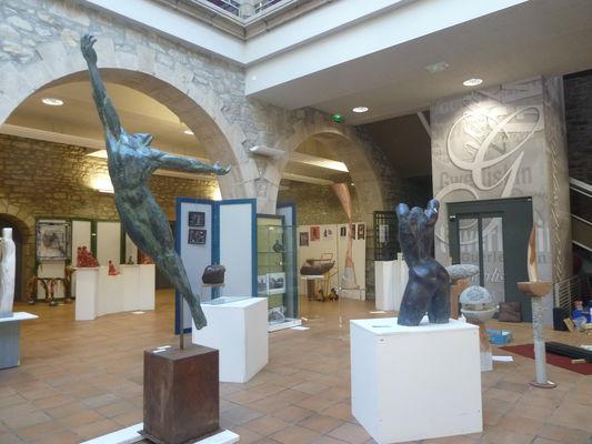 Guerlesquin salon de sculpture