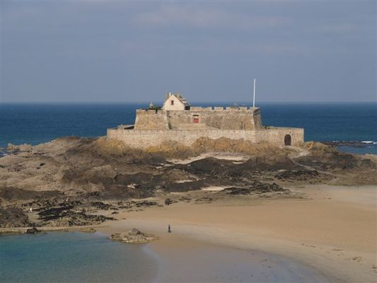 Fort National Saint-Malo Patrimoine