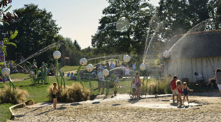 Aire de jeux aux jardins de Brocéliande à Bréal-sous-Montfort