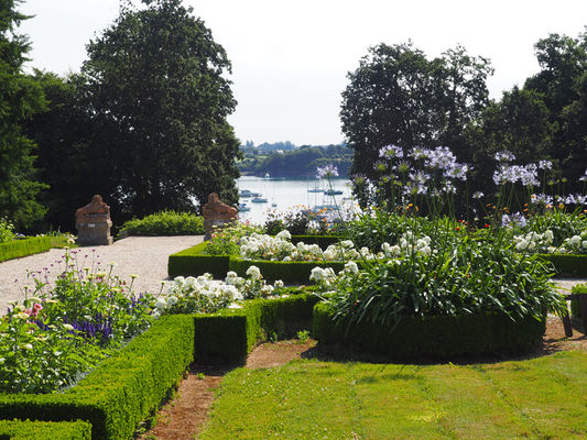 Jardins à la française avec vue sur Rance - Montmarin - Pleurtuit
