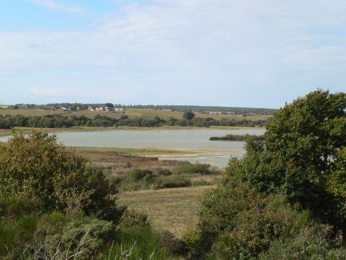 Panorama sur le domaine de Careil