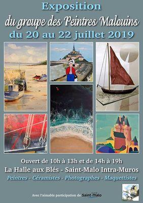 Peintres Malouins 20au22juillet
