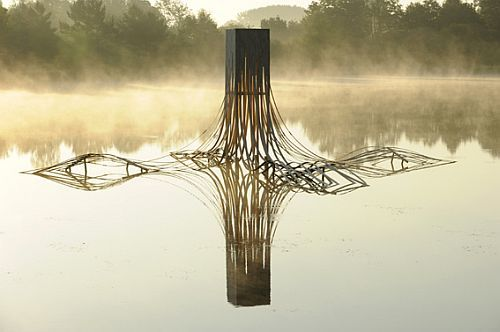 Photo des Etangs d'Art 2010, par Pascal Glais, photograhe à Iffendic