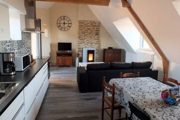 Pièce de vie - Les Coccinelles - Le Val es Bouilli - St Jouan des Guérets