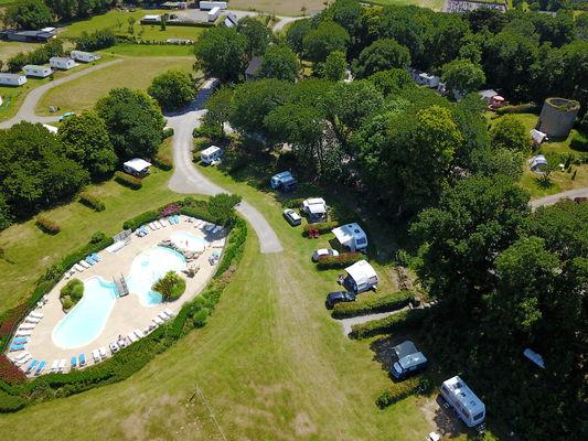 Camping Balcon de la Baie -Moulin
