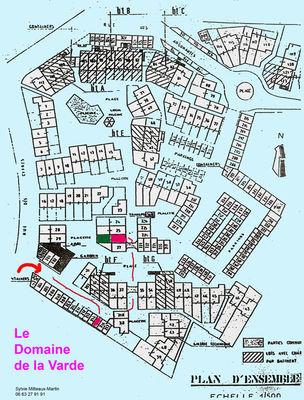 Plan - Cyprès 90 Mitteaux-Martin - Saint-Malo
